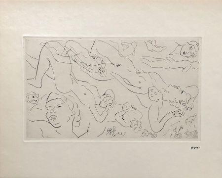 Gravure Matisse - Etude de nu