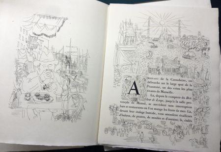 Livre Illustré Dufy - Eugène Montfort: LA BELLE ENFANT OU L'AMOUR A QUARANTE ANS. 94 eaux-fortes originales de Raoul Dufy (1930).