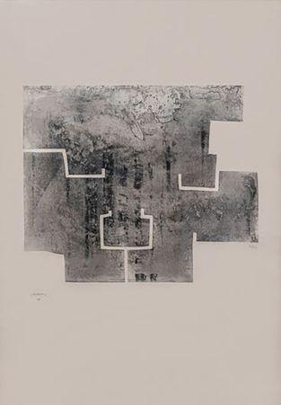 Gravure Chillida - Euzkadi VI