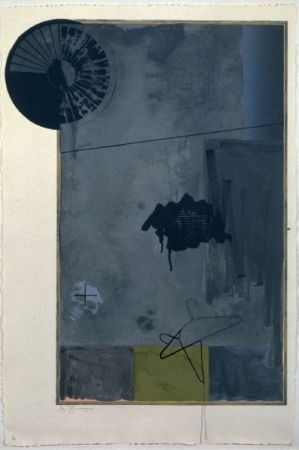 Lithographie Johns - Evian