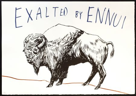 Lithographie Eggers - Exalted by Ennui