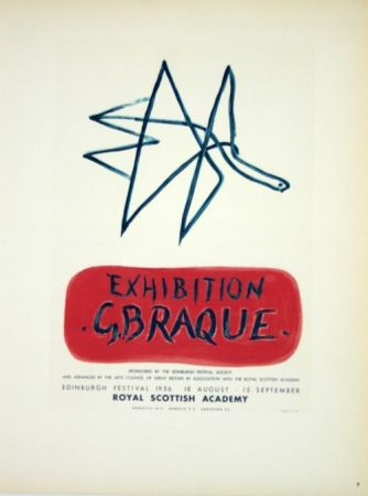 Lithographie Braque - Exhibition  Royal Scottish Academy