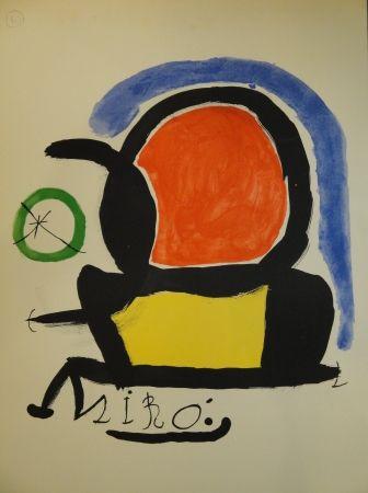 Lithographie Miró - Exhibition