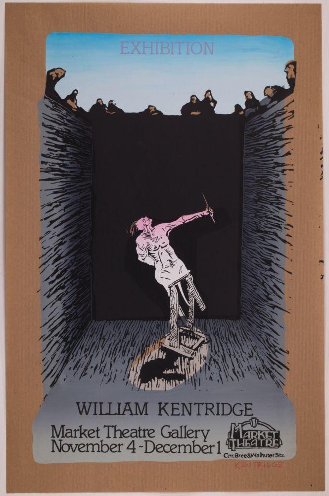 Sérigraphie Kentridge - Exhibition William Kentridge (Pit Monotypes)