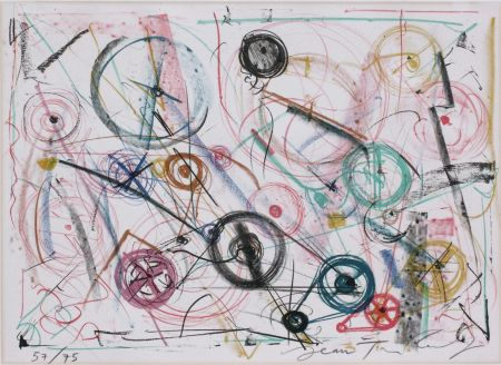 Lithographie Tinguely - Exlibris