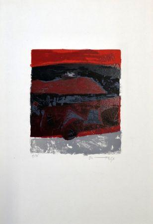Lithographie Ortega - Exodus