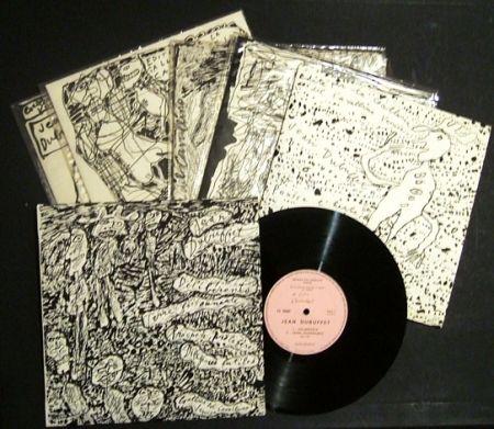 Livre Illustré Dubuffet - Expèriences musicales