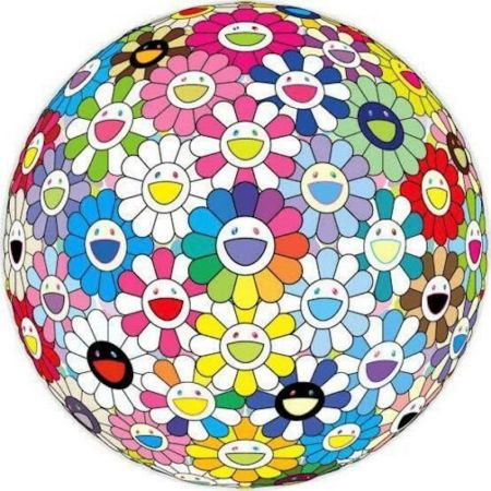 Lithographie Murakami - Expanding Universe