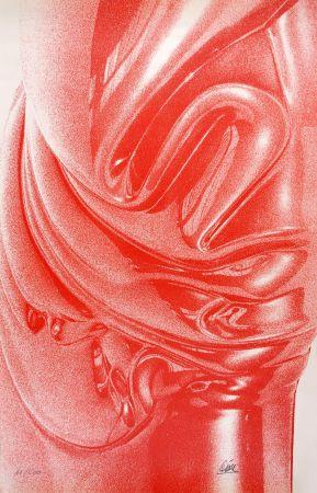Sérigraphie Cesar - Expansion rouge (César Plastiques)