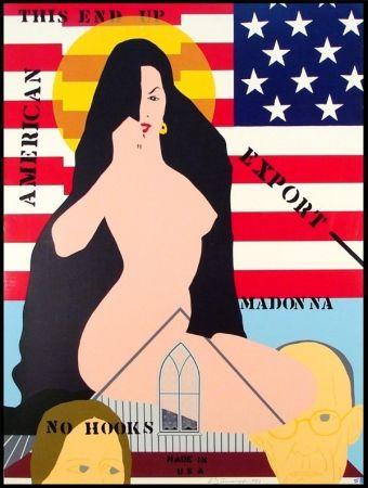 Sérigraphie D'arcangelo - Export Madonna