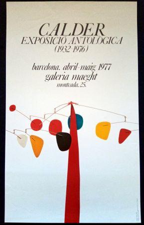 Affiche Calder - Exposició Antològica 1932 1976
