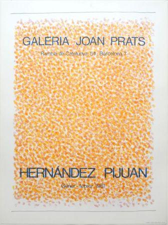 Lithographie Hernandez Pijuan - Exposición Galería Joan Prats