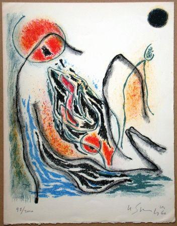 Lithographie Singier - Exposition Galerie de France