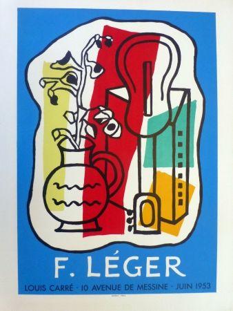 Lithographie Leger - Exposition Galerie Louis Carré, 1953