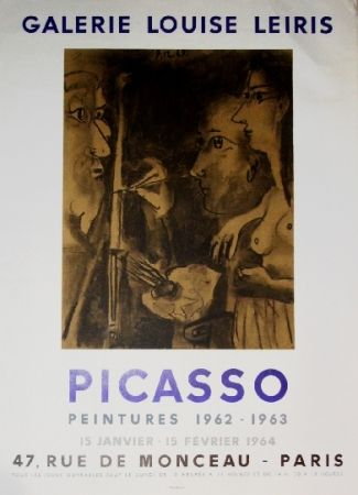 Affiche Picasso - Exposition Louise Leiris