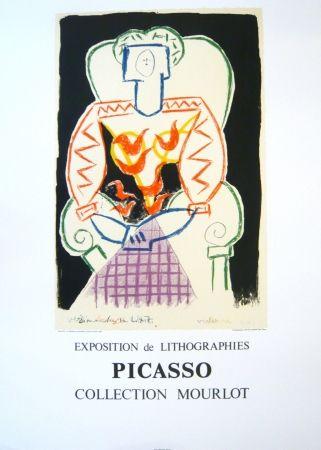 Affiche Picasso - Exposition Picasso Mourlot 1