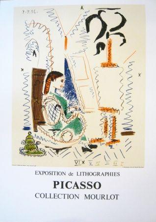 Affiche Picasso - Exposition Picasso Mourlot 2