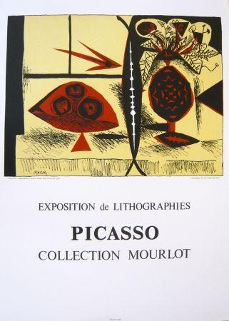 Affiche Picasso - Exposition Picasso Mourlot 3