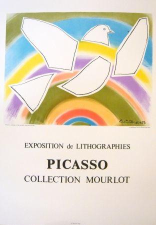 Affiche Picasso - Exposition Picasso Mourlot 4