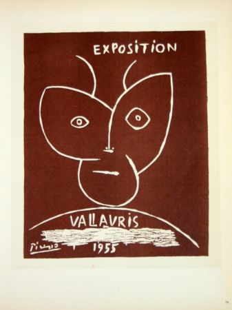 Lithographie Picasso (After) - Exposition  Vallauris
