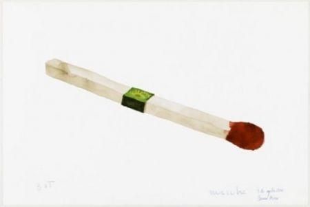 Lithographie Macchi - Fósforo