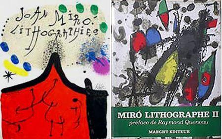 Livre Illustré Miró - F. Mourlot. - P. Cramer: MIRO LITHOGRAPHE I - IV. 1930 - 1972 (catalogue raisonné des lithographies 1930-1972)