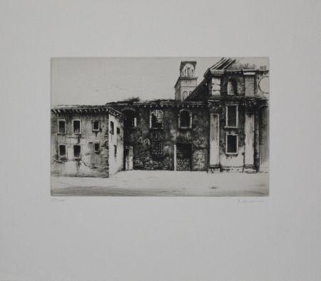 Gravure Schwermer - Fabrikgebäude