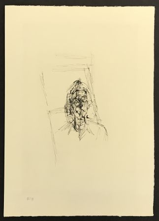 Gravure Giacometti - Face from La Magie Quotidienne