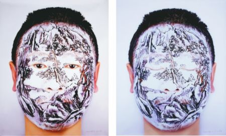 Photographie Yan - Face tattoo