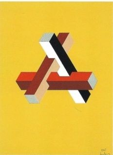 Lithographie Molins - Falsaciones del triangulo de Penrose 11