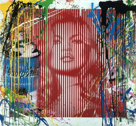 Aucune Technique Mr Brainwash - Fame Moss Red/ Kate Moss (HPM)