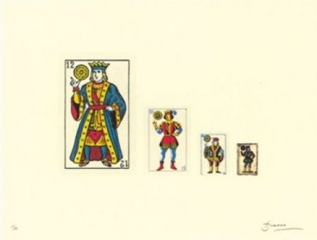 Lithographie Brossa - Familia
