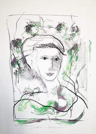 Lithographie Treccani - Fanciulla