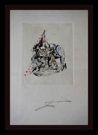 Gravure Dali - Fantômes Le Soupirant