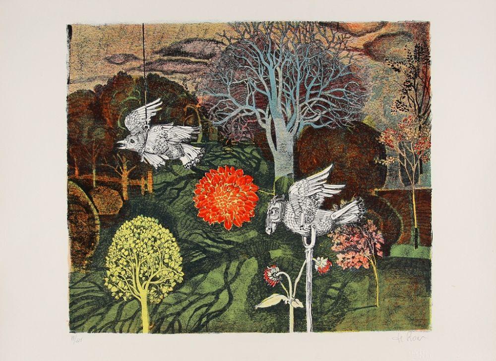 Lithographie De Rosa - Fantastic Creatures