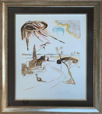Lithographie Dali - Fantastic Voyage