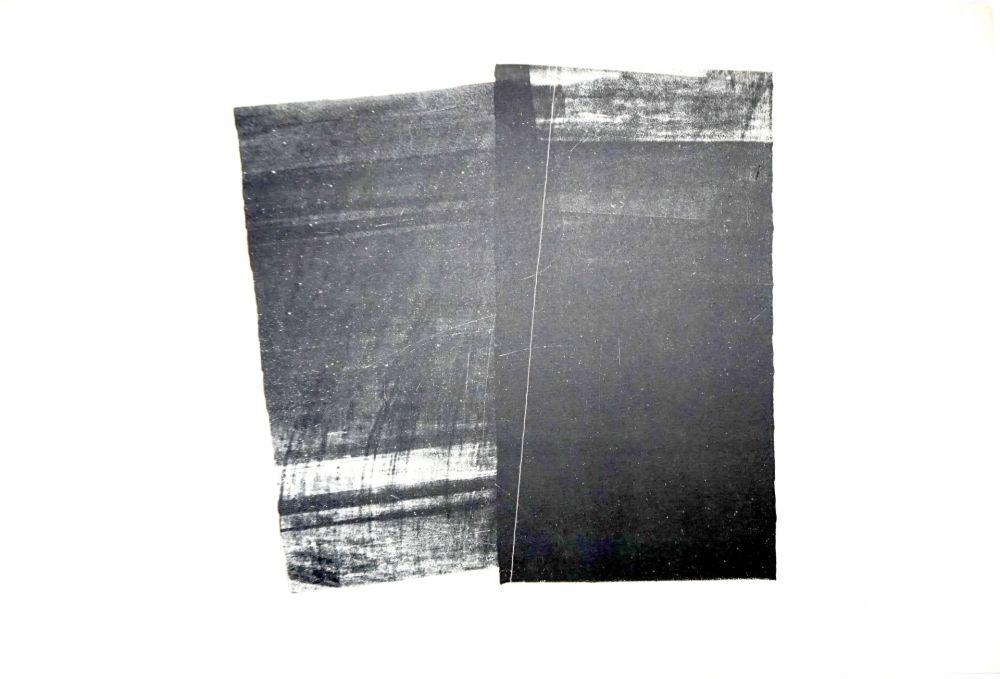 Lithographie Hartung - Farandole
