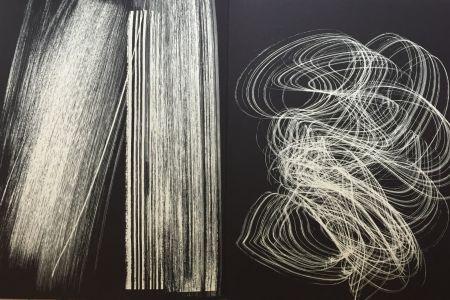 Lithographie Hartung - Farandole 13