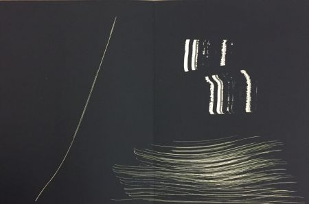 Lithographie Hartung - Farandole 14