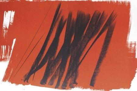 Lithographie Hartung - Farandole 15