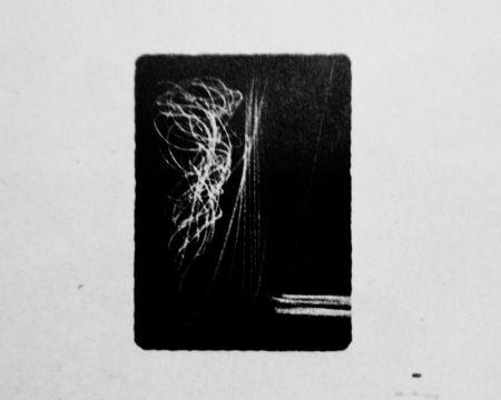 Lithographie Hartung - Farandole 17