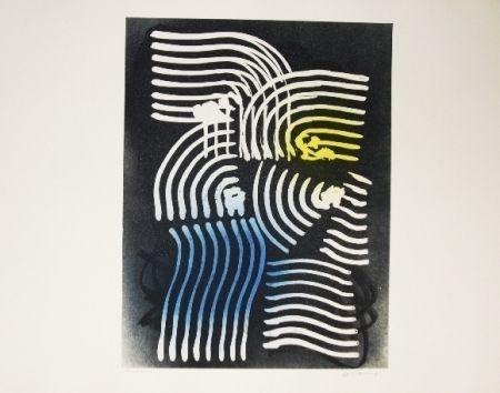 Lithographie Hartung - Farandole 18