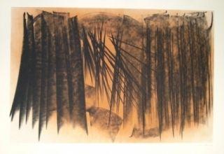 Lithographie Hartung - Farandole 20