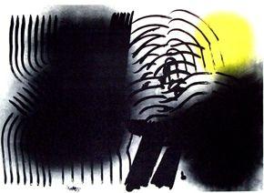 Lithographie Hartung - Farandole 3