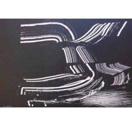 Lithographie Hartung - Farandole 4