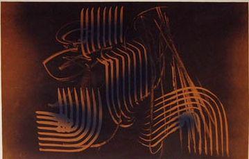 Lithographie Hartung - Farandole 5