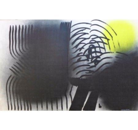 Lithographie Hartung - Farandole 6