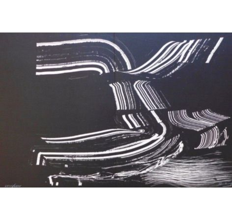 Lithographie Hartung - Farandole D