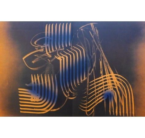 Lithographie Hartung - Farandole G