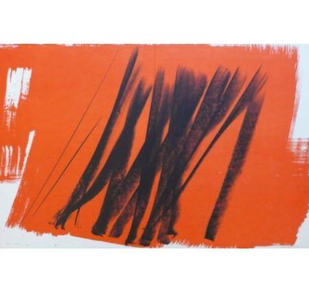 Lithographie Hartung - Farandole H